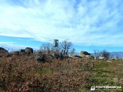 La Cachiporrilla - Altos del Hontanar; rutas senderismo; excursiones cerca de madrid;puente constitu